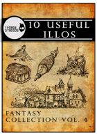 10 useful illos - Fantasy collection vol. 4