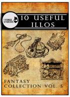 10 useful illos - Fantasy collection vol. 5