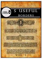 5 useful borders vol. 1