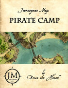 Pirate Camp - Encounter Map