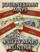 Journeyman Maps Cities [BUNDLE]