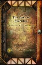 Mini-setting: Town of Mariston