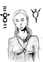 Elf female 2406x3420 stock art