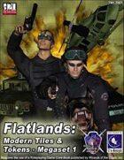 Flatlands: Modern Tiles and Tokens Megaset 1