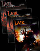 Lair Magazine Bundle: Issues 4-6 , from $44.99 to $39.99