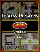 Endless Dungeons: Volume 1-4 Bundle