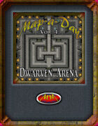 Map-A-Day 10/4/2017 Dwarven Arena