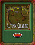 Map-A-Day 10/7/2017 Autumn Clearing