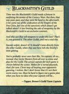 Blacksmiths Guild Intro