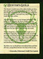 Hunters Guild Intro