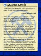 Masons Guild Intro