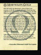 Morticians Guild Intro