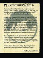 Ratcatchers Guild Intro