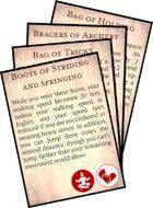 5e Uncommon Magic Item Cards
