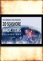 20 Seashore Magic Items