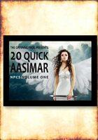 20 Quick Aasimar NPCs