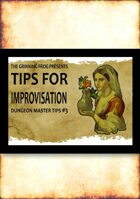 DM Tips for Improvisation