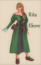Rita Ekore - Karta Postaci do nowej edycji