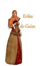 Erika de Guise- Karta Postaci do nowej edycji