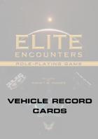 Elite Encounters RPG Vehicle Record File