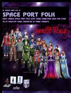 El Cheapo Minis Vol. 8 Space Port Folk