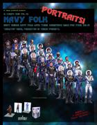 El Cheapo Portraits - Navy Folk