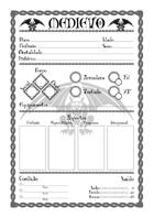 Ficha de Personagem - Medievo RPG