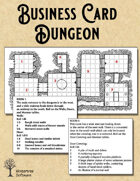 Business Card Dungeon