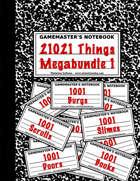 21021 Things-1 [BUNDLE]