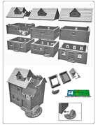 House set for 3D printing (STL File)