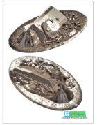 chrashed / destroyed sherman tank (stl files)