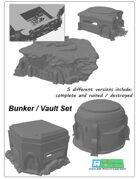 Bunkers SET (STL Files)