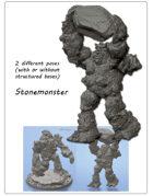 2x Stonemonster minitures -STL files-
