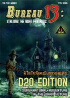 Bureau 13 d20 edition