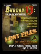 Bureau 13: Stalking the Night Fantastic - Lost Files
