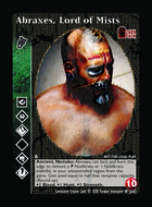 Abraxes, Lord Of Mists - Custom Card
