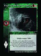 Pact With Werewolves - Custom Card