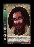 Crypt - Sundervere, The Devil Brahmin - Follower of Set