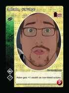 Adam, Savage - Custom Card