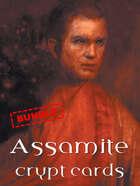 Assamite crypt cards [BUNDLE]