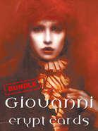 Giovanni crypt cards [BUNDLE]