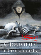 Giovanni library cards [BUNDLE]