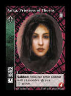 Crypt - Anka, Priestess of Thorns [2] - Ravnos