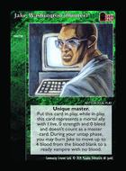 Jake Washington (hunter)       - Custom Card