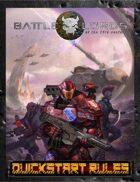 Battlelords of the 23rd Century QUICK-START RULES (Kickstarter/7th Edition)