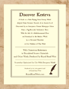 Discover Kesteva – Somewhat Optimized for Dungeon World