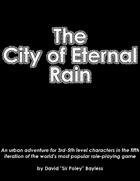 The City of Eternal Rain