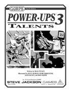 GURPS Power-Ups 3: Talents