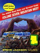 AADA Road Atlas V7: Mountain West
