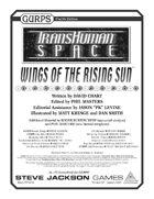 Transhuman Space: Wings of the Rising Sun